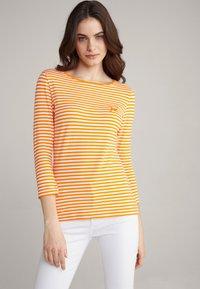 JOOP! - Long sleeved top - orange/weiß - 0