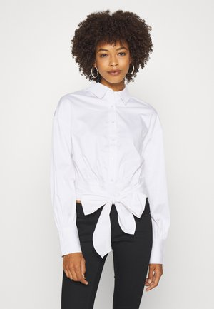 LUCINA - Button-down blouse - true white