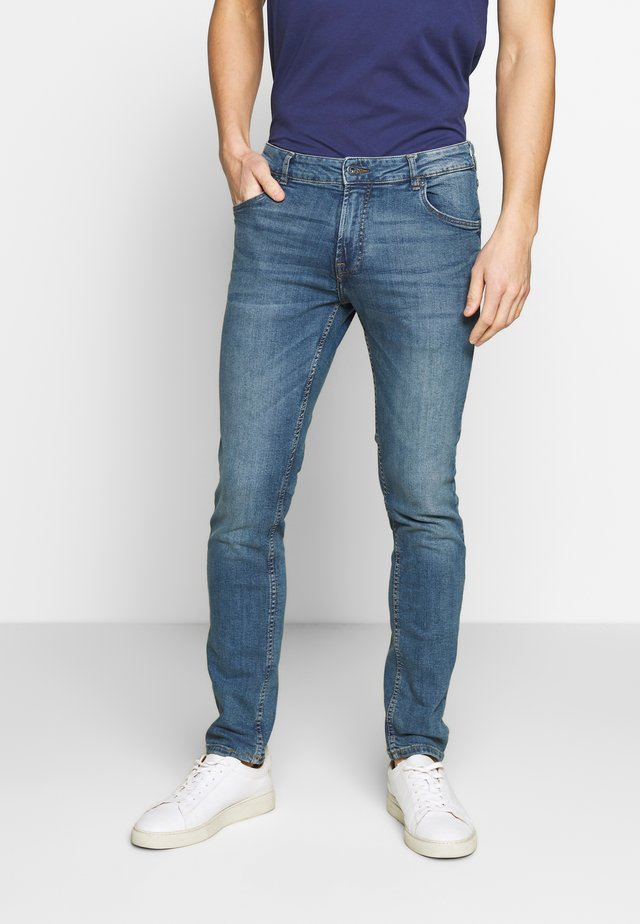 SLIM-JOY BLUE258 STR - Slim fit jeans - blue dnm