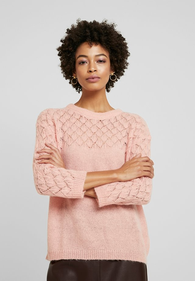 ADORA  - Strickpullover - rose dawn