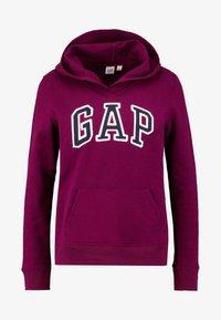 GAP - FASH - Bluza z kapturem - beach plum - 3