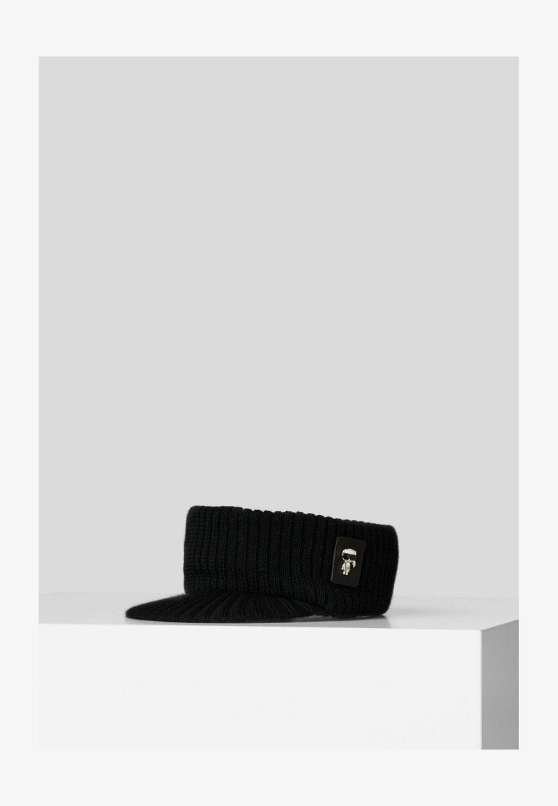 KARL LAGERFELD - K/IKONIK 3D PIN - Cap - black