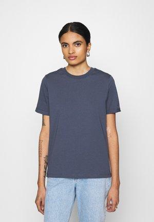 PCRIA FOLD UP TEE - T-shirt basique - blue