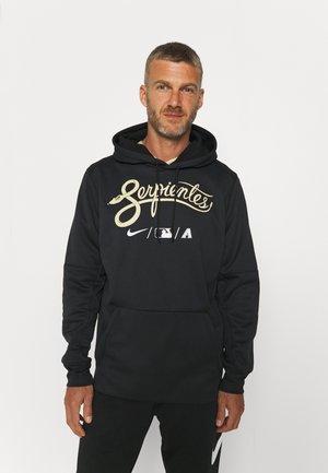 MLB CITY CONNECT ARIZONA DIAMONDBACKS BASEBALL THERMA HOODI - Sweatjacke - black
