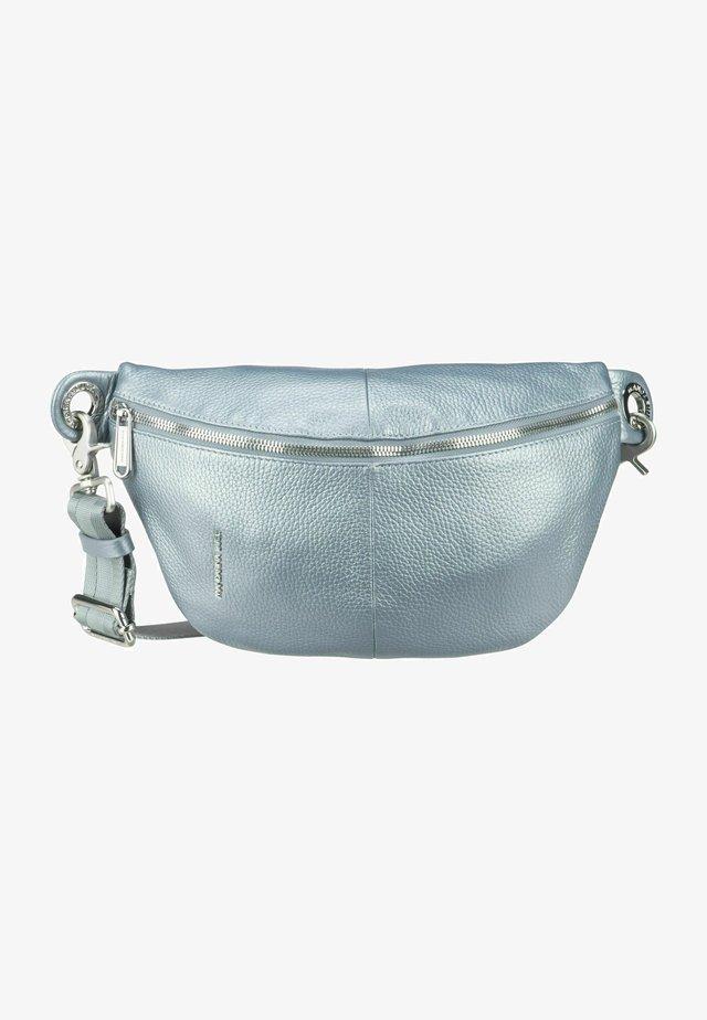 Bum bag - mottled light blue