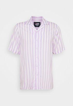 EL CUBA - Camicia - white/pastell lilac