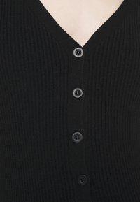 Glamorous - BUTTON CARDI - Cardigan - black - 5