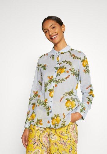 IRIS - Button-down blouse - blue