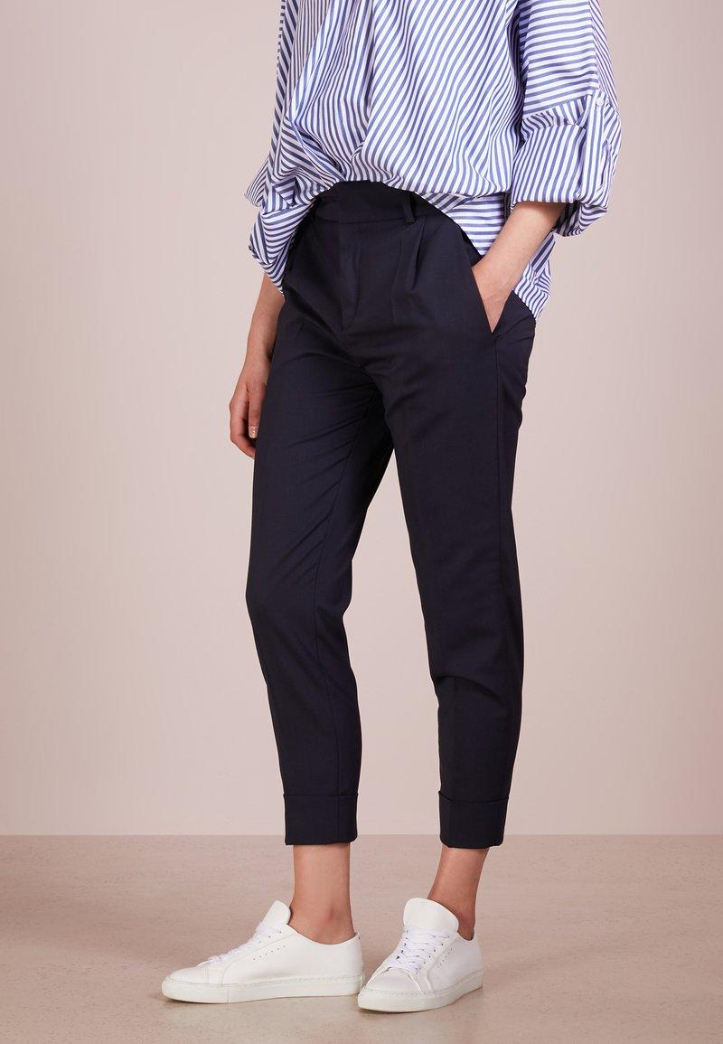 DRYKORN - EMOM - Trousers - blue denim