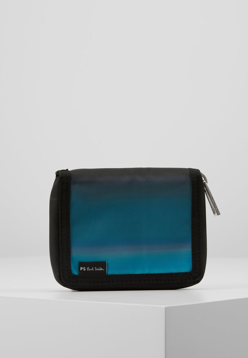 PS Paul Smith - WALLET ZIP HORIZON - Geldbörse - blue