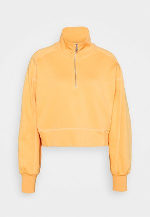 ALDORA HALF ZIP - Sweater - bright orange
