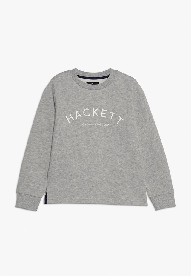 LOGO - Sweatshirt - mottled light grey