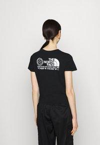 The North Face - COORDINATES TEE - Print T-shirt - black - 2