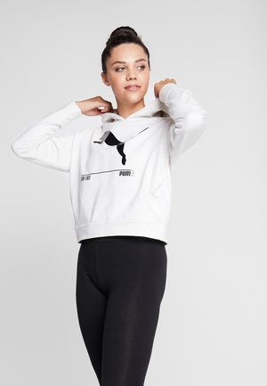 NU TILITY HOODY - Huppari - white heather
