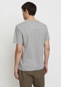 Timberland - WOODWOOD - Print T-shirt - grey - 2