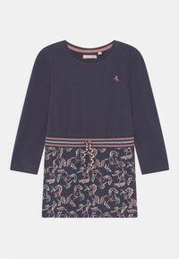 Lemon Beret - SMALL GIRLS DRESS - Jersey dress - parisian night - 0