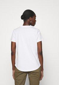 Banana Republic - PALM GRAPHIC TEE - Print T-shirt - white - 2