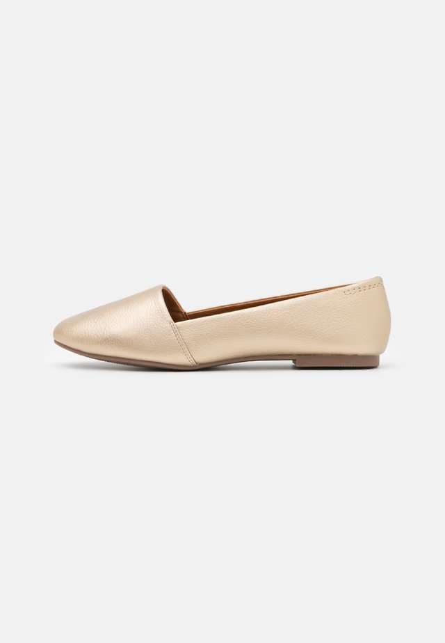 SAMANTHA - Slippers - gold