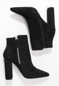 Buffalo - FERMIN - High heeled ankle boots - black - 3