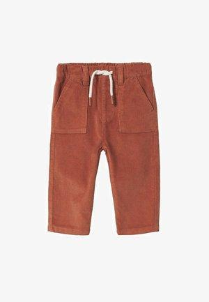 Relaxed fit jeans - orange brûlé