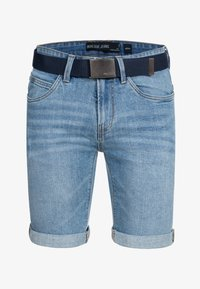 INDICODE JEANS - CUBA CADEN - Denim shorts - blue - 5