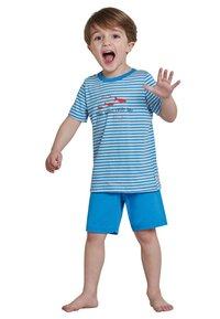 Schiesser - SET - Pyjama - blau - 1