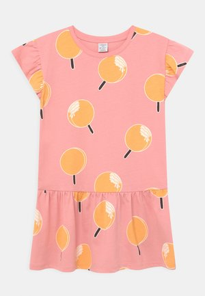 MINI FRILL SLEEVE - Jerseykleid - light pink