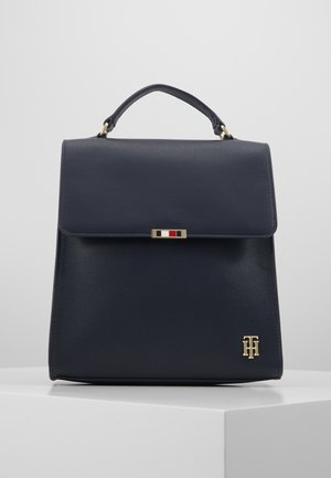 SAFFIANO BACKPACK - Rucksack - blue