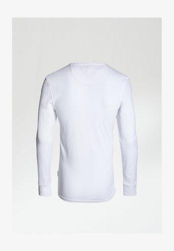 DAMIAN-B - Long sleeved top - white