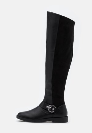 ONLTYRA LONG SHAFT BOOT  - Over-the-knee boots - black