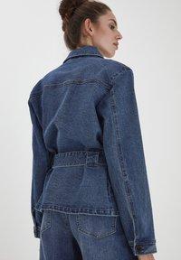 ICHI - IHNICOLE  - Denim jacket - medium blue - 2