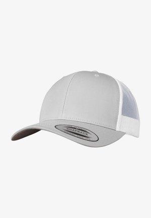 TRUCKER  - Cap - silver/wht