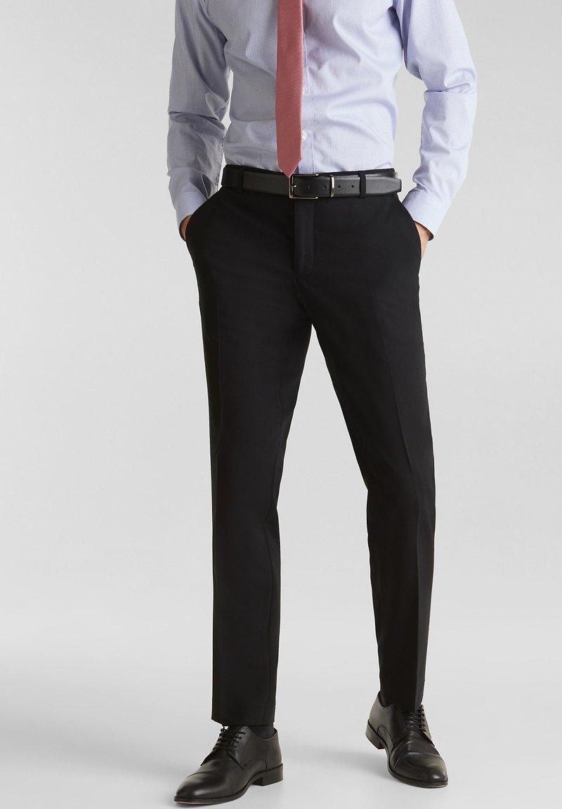 Esprit Collection - Suit trousers - black