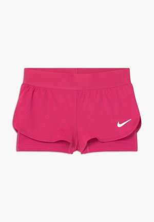 SHORT 2-IN-1 - Sports shorts - vivid pink/white