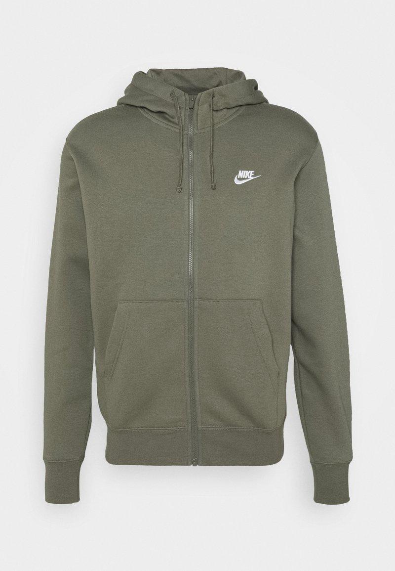 Nike Sportswear - CLUB HOODIE - Zip-up hoodie - twilight marsh