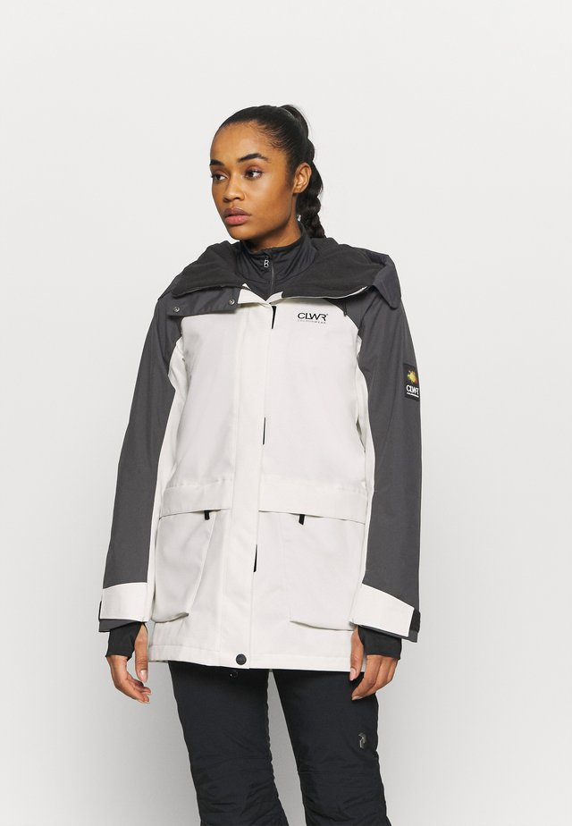 BLAZE JACKET - Snowboardjas - off white