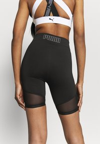 Puma - TRAIN FAVORITE BIKER SHORT - Collant - black - 3