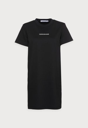MILANO T-SHIRT DRESS - Robe en jersey - black