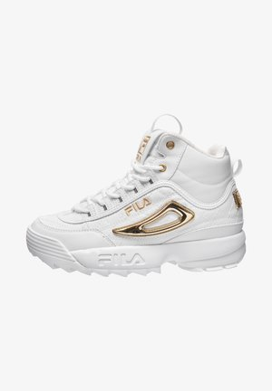 DISRUPTOR - Trainers - white / gold