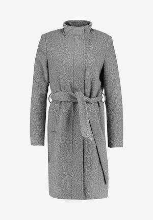 SLFMEA COAT - Kort kåpe / frakk - medium grey melange