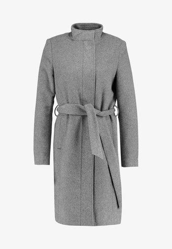 SLFMEA COAT - Krátký kabát - medium grey melange