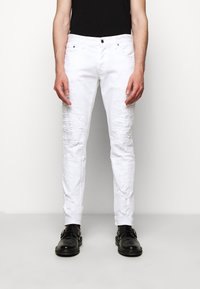 Just Cavalli - PANTALONE - Džíny Slim Fit - optical white - 2