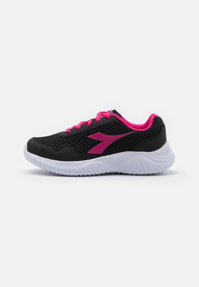 ROBIN 2 JR UNISEX - Chaussures de running neutres - black/magenta