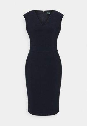 BONDED DRESS - Pouzdrové šaty - lighthouse navy