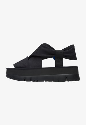 ORUGA UP - Platform sandals - schwarz