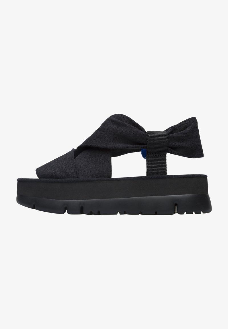 Camper - ORUGA UP - Platform sandals - schwarz