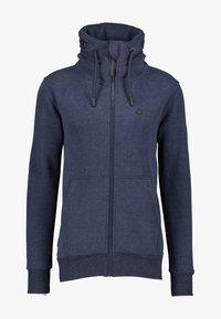 alife & kickin - ELIASAK A - Zip-up hoodie - marine - 4