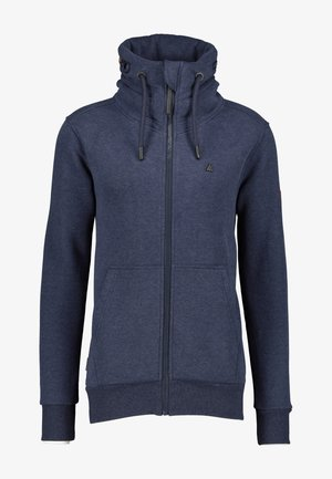 ELIASAK A - Zip-up hoodie - marine