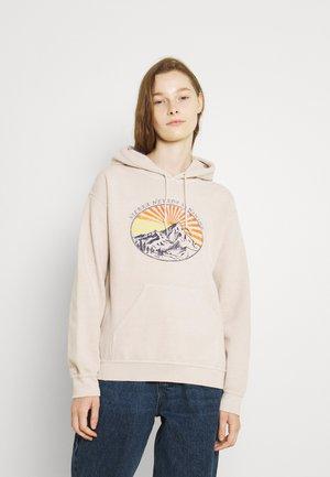SIERRA NEVADA SKATE HOODIE - Sweatshirt - cream