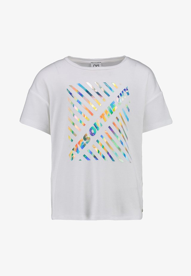 DORRAINE - Print T-shirt - off white
